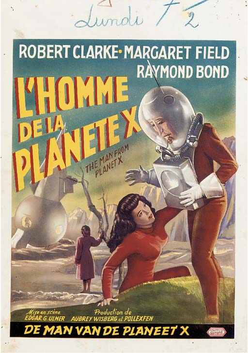 The Man From Planet X/L'Homme