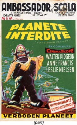 Forbidden Planet/Planète Inter