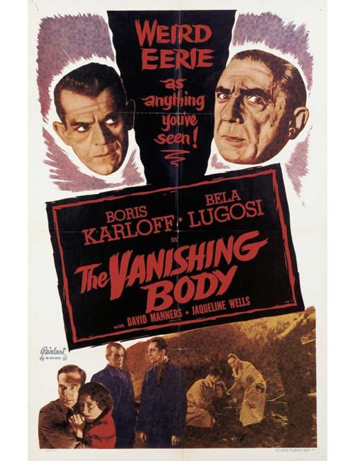 The Vanishing Body