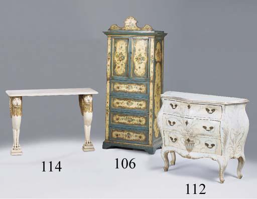 A Venetian polychrome decorate
