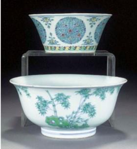 A doucai flaring bowl  Daoguang