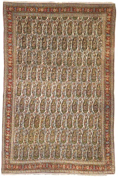 A very fine antique Senneh rug