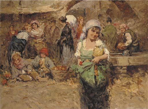 Giuseppe Pitto (Italian, 1857-