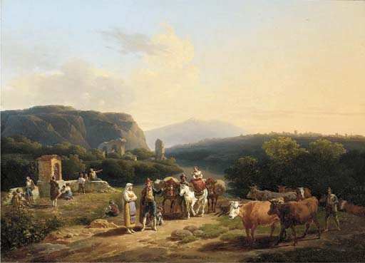 Hippolyte Lecomte (French, 178
