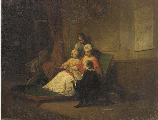 Constant Wauters (French, 1826