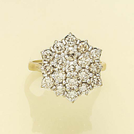 A diamond nineteen stone hexag