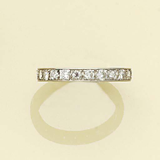 A diamond eternity ring,