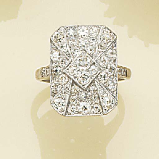 An old-brilliant-cut diamond c