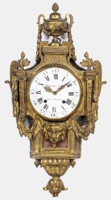A Louis XVI ormolu striking ca