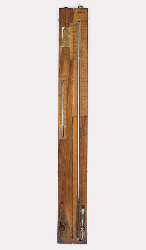 A Spanish rosewood travelling