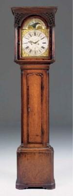 A George III oak and mahogany