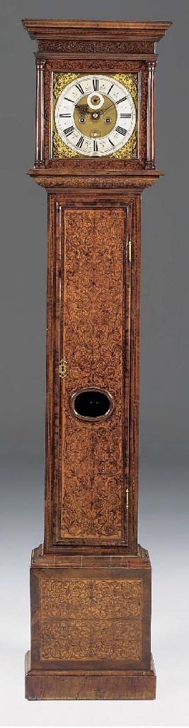 A Queen Anne seaweed marquetry