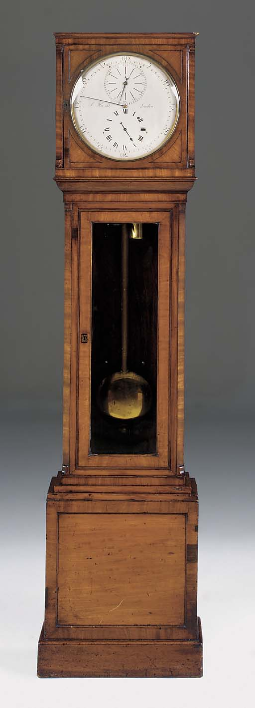 A Regency mahogany longcase re