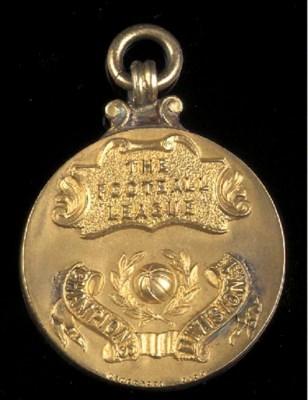 A silver-gilt medal, the obver
