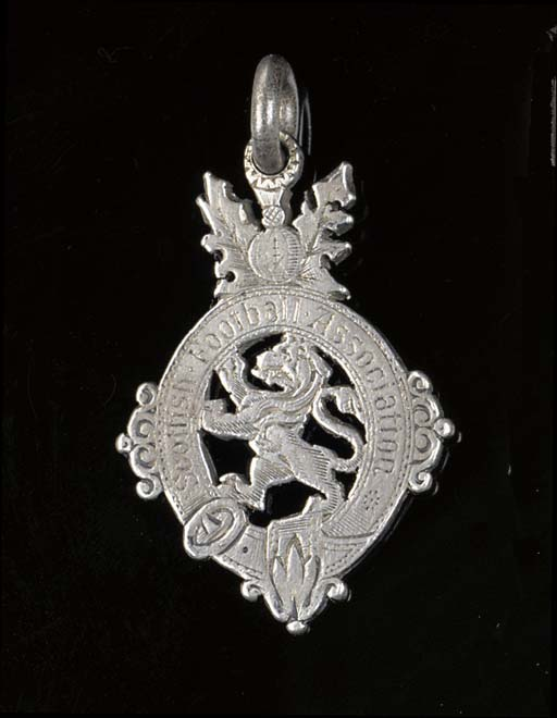 A silver medal, the obverse in