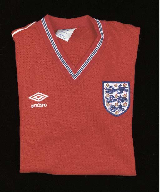 A red Airtex England Internati