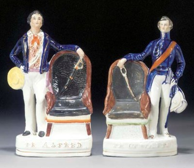 Two figures of the Prince of W