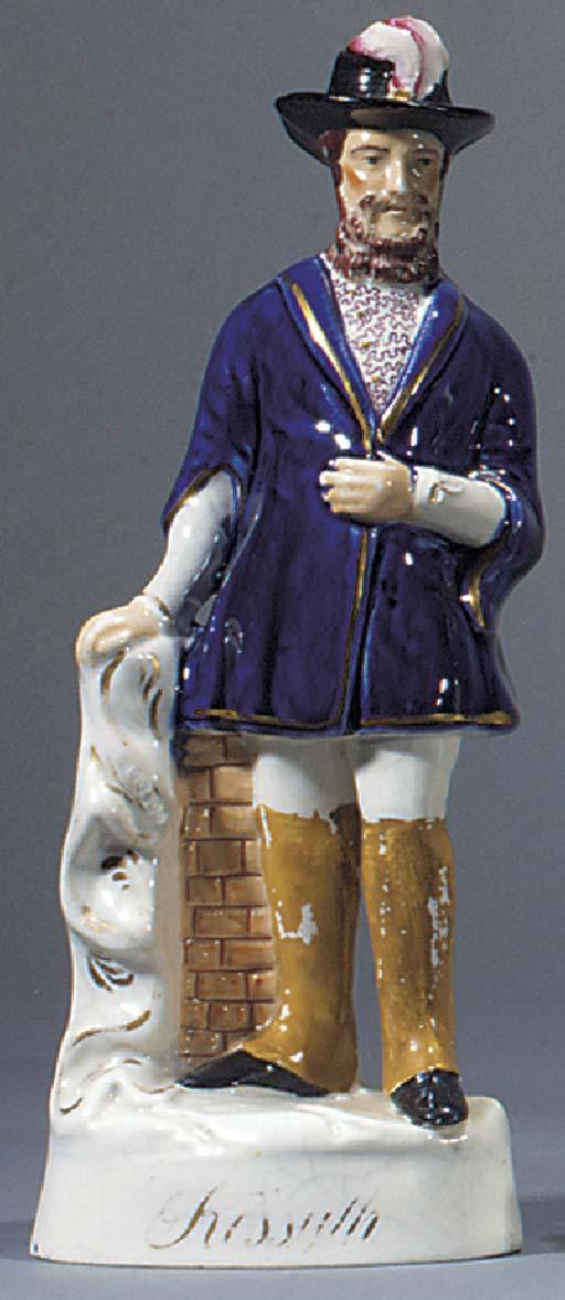 A figure of Louis Kossuth