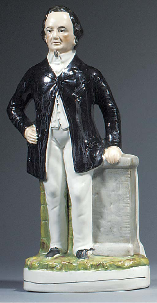 A figure of Benjamin Disraeli,