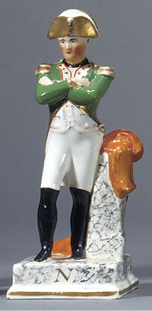 A figure of Napoleon Boneapart