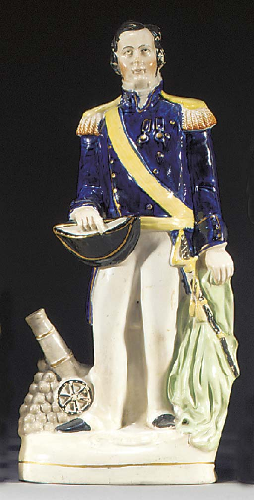 A figure of Admiral Sir Charle