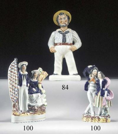 A figure of the 'Fat Sailor'