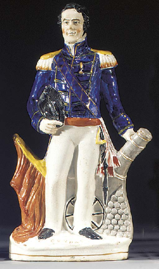A figure of Sir James Whitley