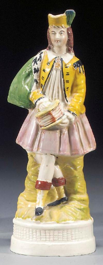 A figure of a Highlander