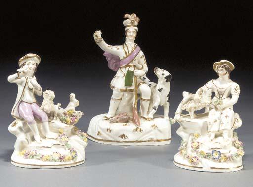 A porcelaineous figure of a Hi
