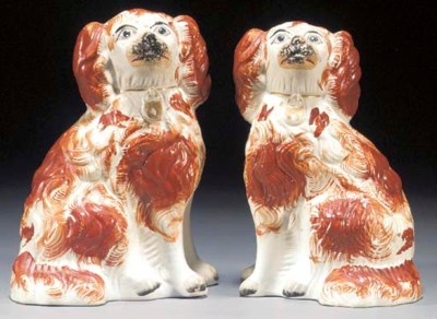 Two models of spaniels