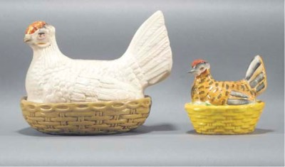A hen tureen and cover