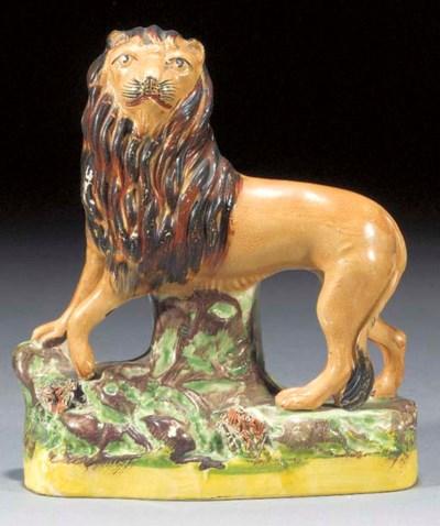 A model of a lion