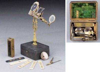 A rare mid 18th-Century brass