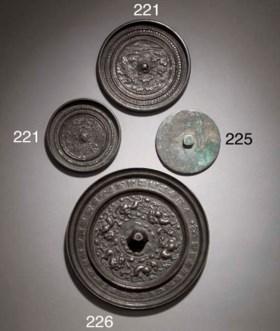 A bronze mirror  Tang Dynasty