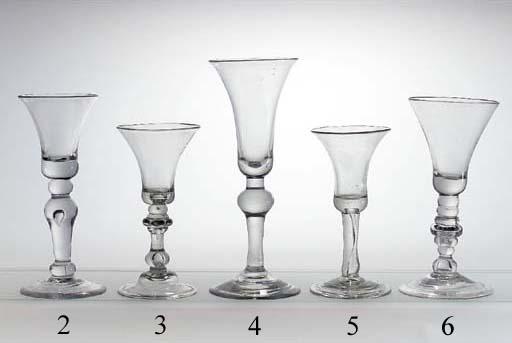 A baluster wine-glass