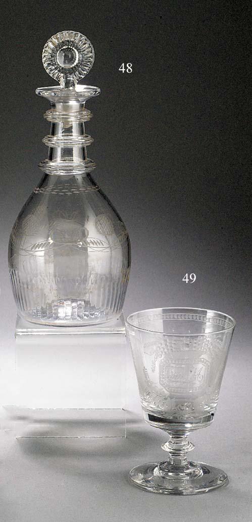 An Irish 'Waterloo Glass Compa