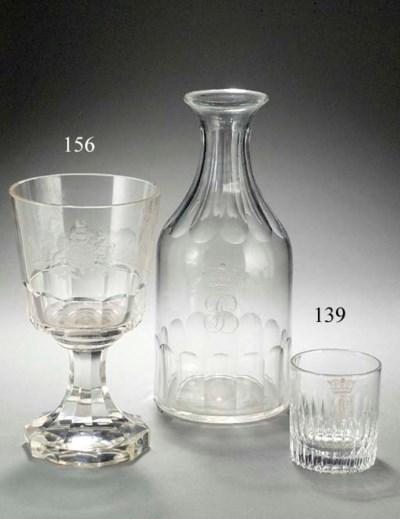 A Bohemian armorial goblet