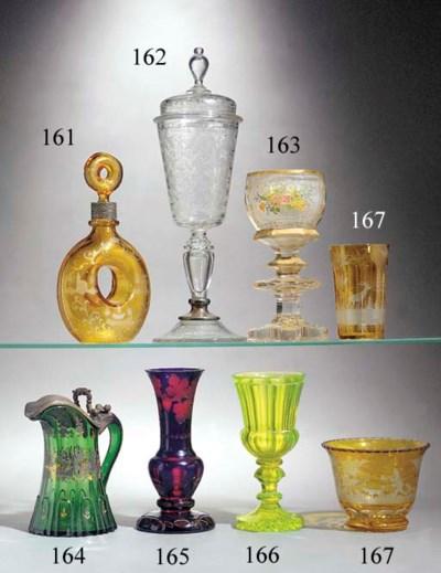 A Bohemian goblet