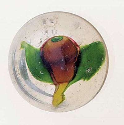 A Clichy pear door-knob