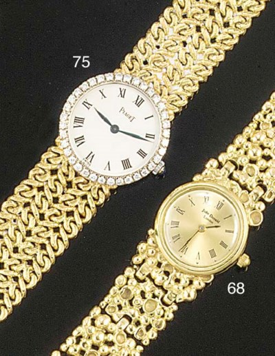 A Lady's diamond set Piaget br