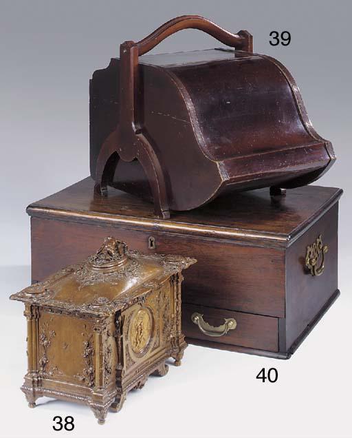 An Anglo colonial hardwood box