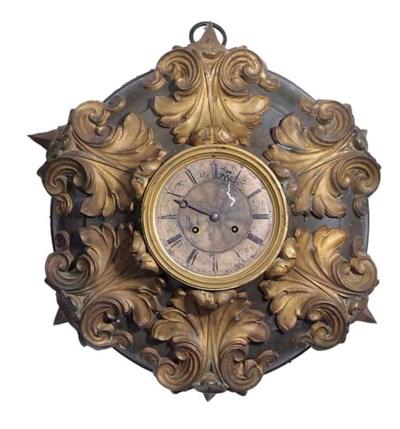 A French gilt metal striking w