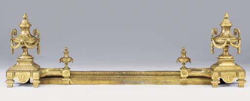 A French gilt bronze adjustabl