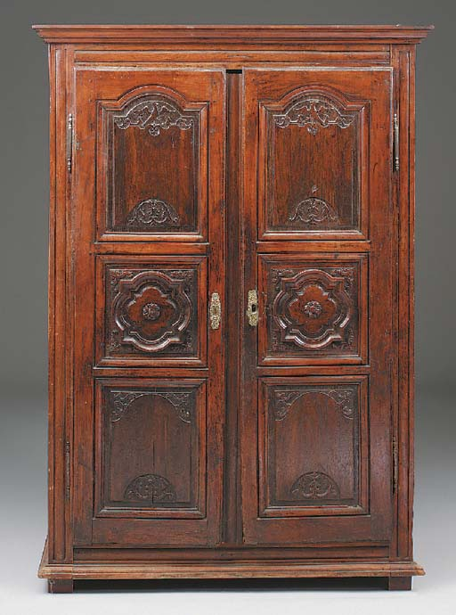 A French Chestnut Armoire, the