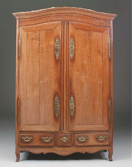 A French Chestnut Armoire, lat