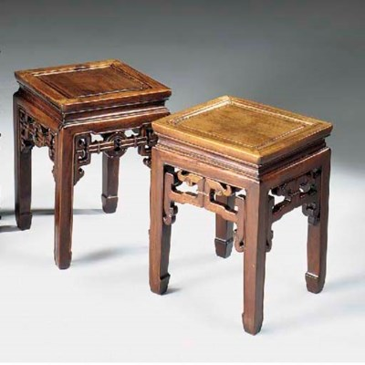 A MATCHED PAIR OF CHINESE HARD