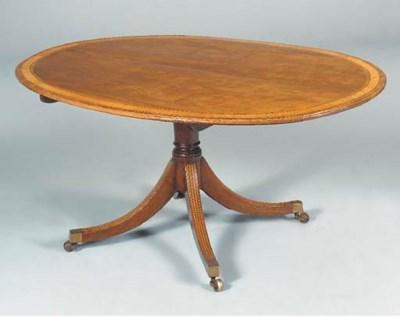 A late George III mahogany, sa
