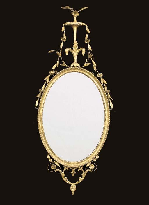 A George III giltwood and gilt