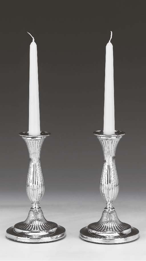 A PAIR OF GEORGE III TABLE CAN