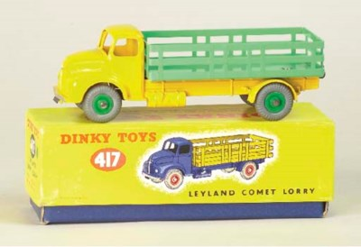 Dinky Fire and Commercial